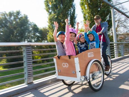 Fahren mit Ihrem Lastenrad: Grundlegendes zu Ihrer Sicherheit, Teil 1