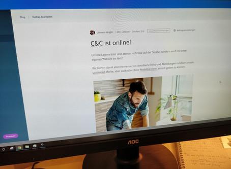 C&C ist online!