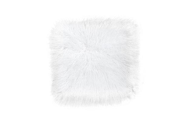 Fluffy White
