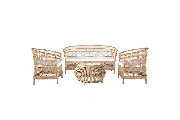 Anya Natural Lounge Set