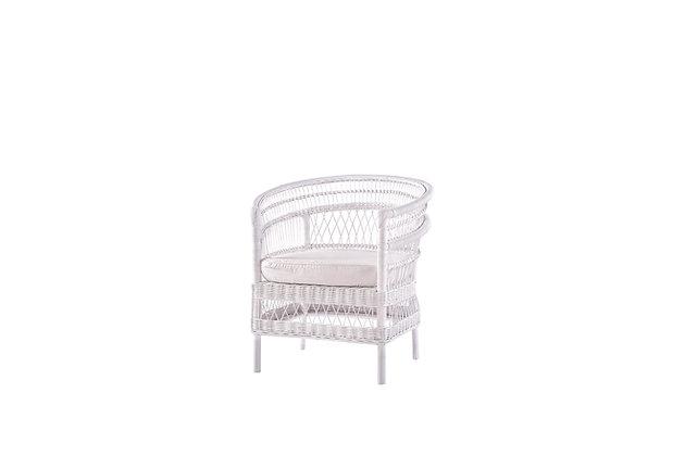Anya White Armchair