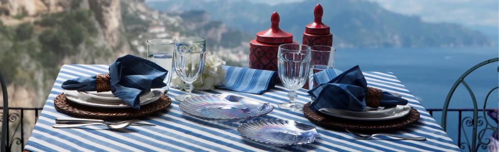 Toalha de Mesa Amalfi Azul
