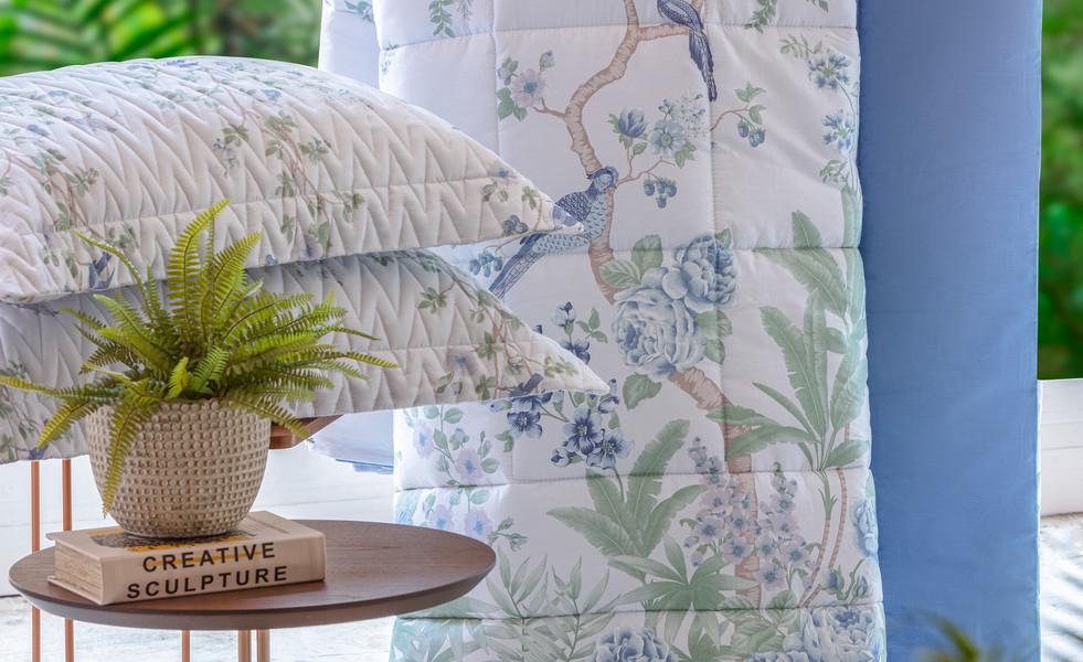 Comforter Malai Blue