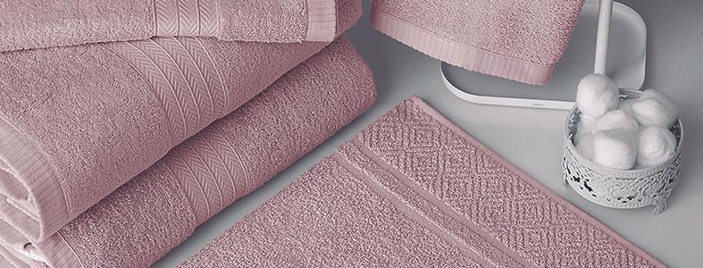 Jogo de Banho Gigante Rosa Cristal
