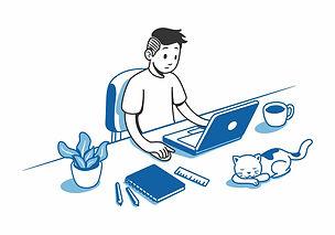 remote-working-advantages-man-working-de