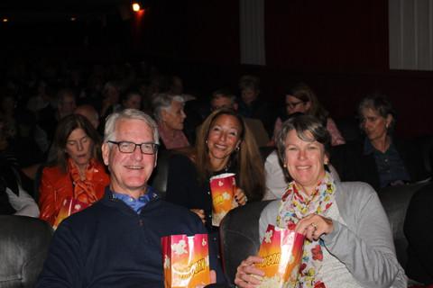 Happy Audience Members!