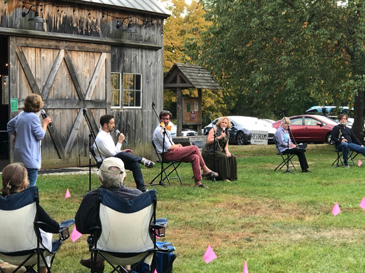 Outdoor theatre at the beautiful Lachat Town Farm