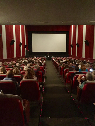 Sold out audience at Norwalk's Garden Cinema