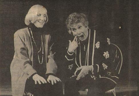 Brenda Lewis & Brett Somers