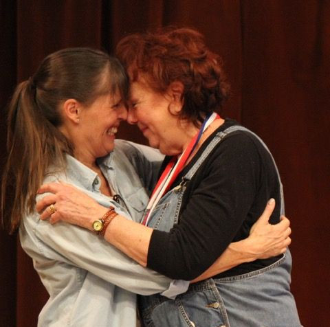 Susan Jacobson and Nadine Willig