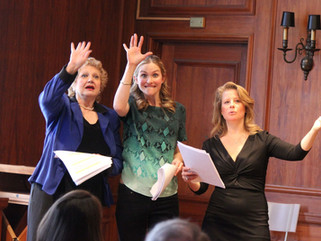 Melody James, Wynter Kullman and Susan Vanech