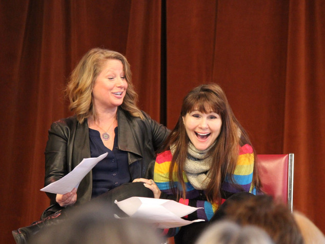 Susan Vanech and Marca Leigh