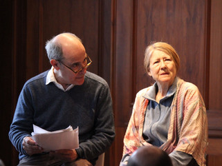 Robert Emmet Lunney and Mia Dillon