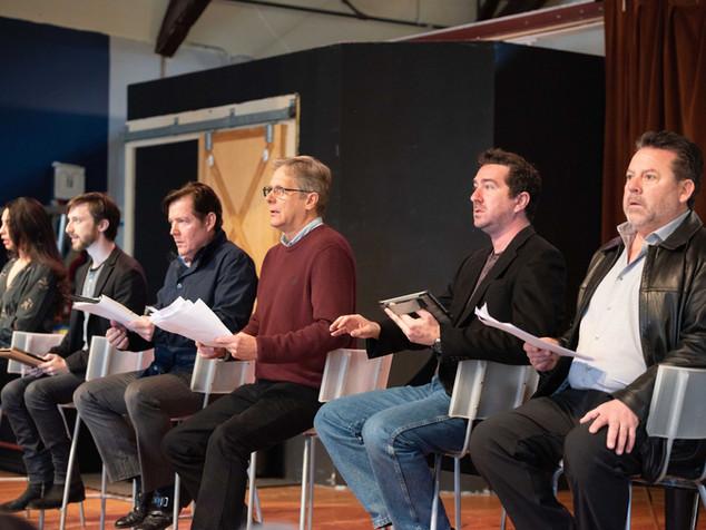 Kim Maresca, Sam Plattus, Robert Mobley, Scott Bryce, Jeremy Funke and Allan Zeller