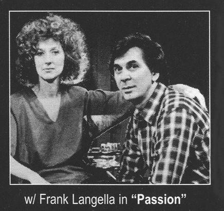 E. Katherine Kerr & Frank Langella