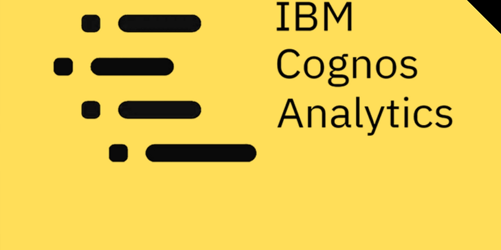 IBM Cognos Analytics Workshop #4