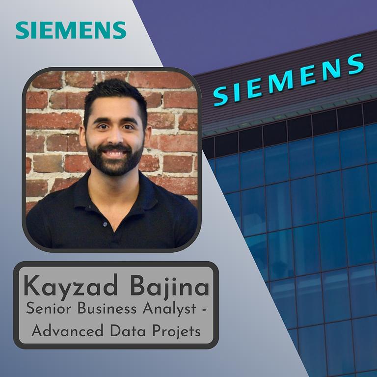 Siemens Speaker: Kayzad Bajina