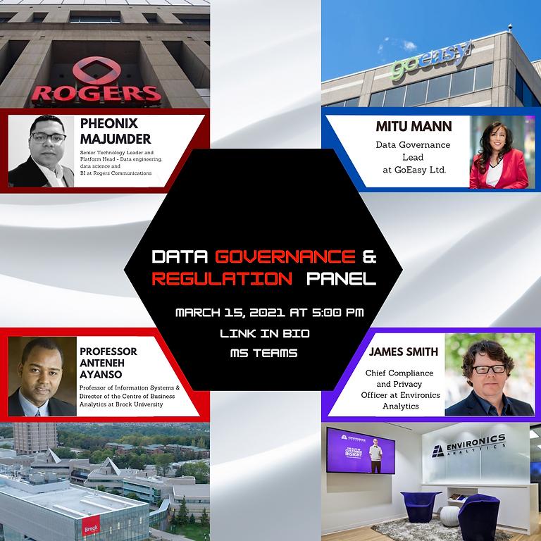 Data Governance & Compliance Speaker Panel