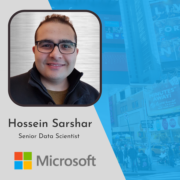 Microsoft Speaker: Hossein Sarshar