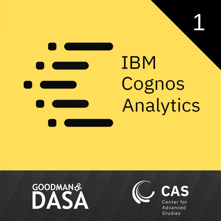 IBM Cognos Analytics Workshop #1
