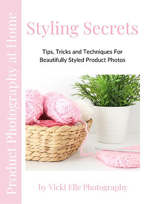 Product Photography at Home - Styling Se