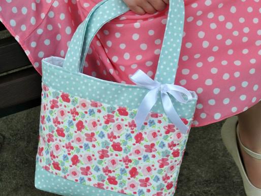 Child Size Tote Bag PDF Sewing Pattern