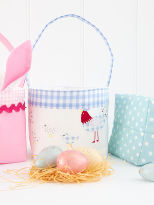 Easter Basket PDF Sewing Pattern