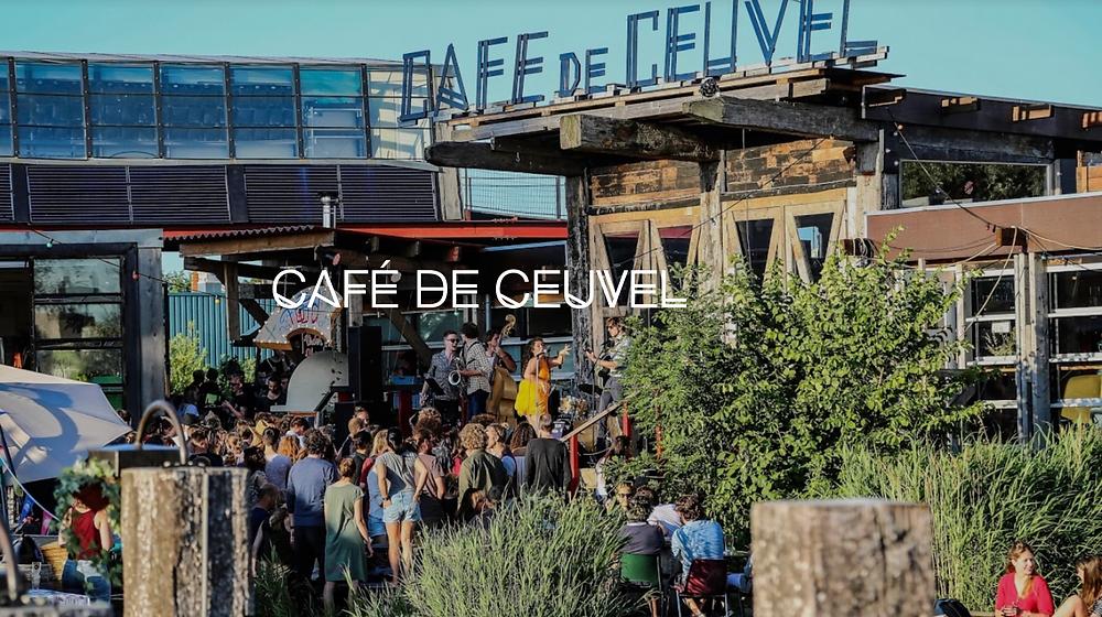 Café de Ceuvel, Amsterdam Noord, NDSM werf