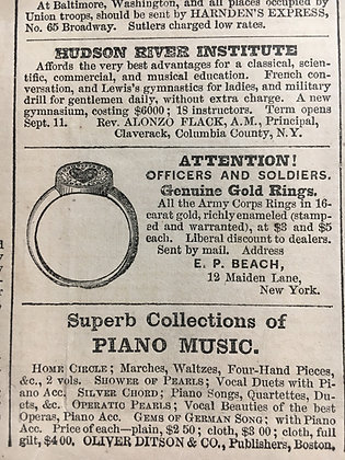 Corps Badge Insignia Ring