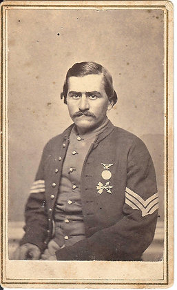 Metal Seventeenth Corps Badge (1865)