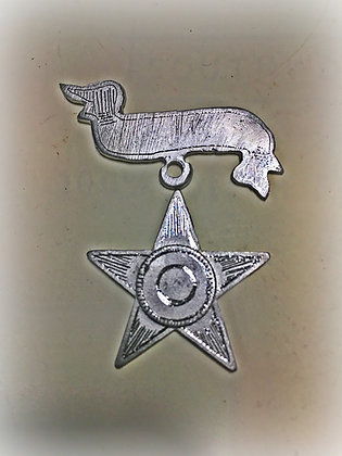 Small ID Star/ 12-20th 17th Corps Badge