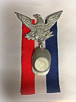 Union Veteran Eagle & Cap Badge