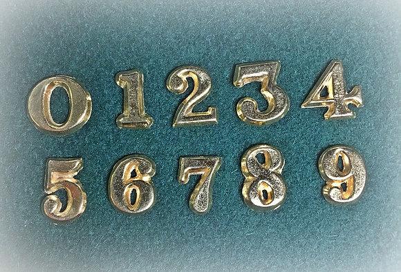 Regimental Numbers 0-8
