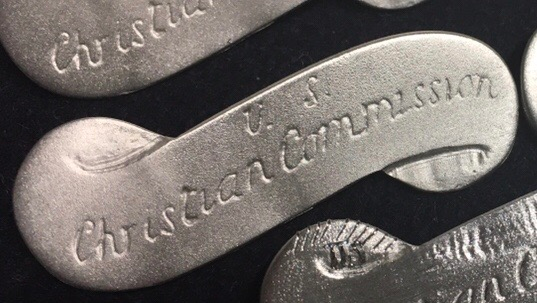 US Christian Commission Badge - Type I