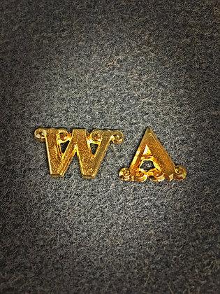 Unit Letters- Washington Artillery