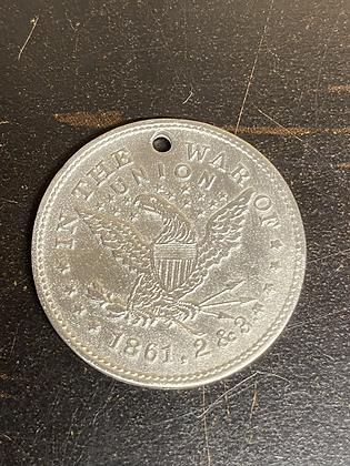 War of 1861,62,63 ID Disc