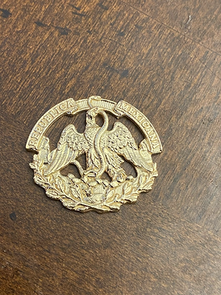 Mexican Army Insignia - Mid to Late 19th Century