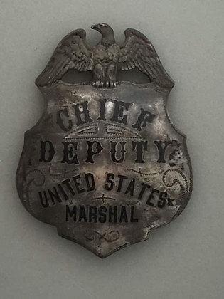 Old West Deputy US Marshal Badge