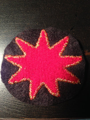 9 Pointed Star Badge