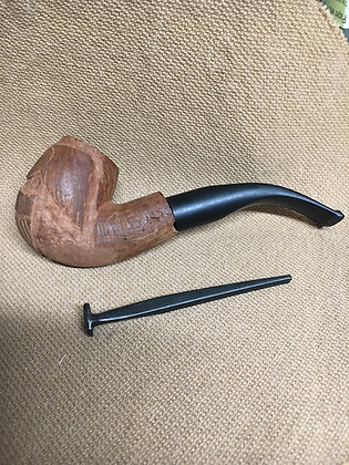 Soldier Made Pipe Tool... a Nail.