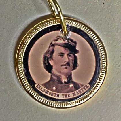 Ellsworth the Martyr/ Brownell the Avenger Medallion