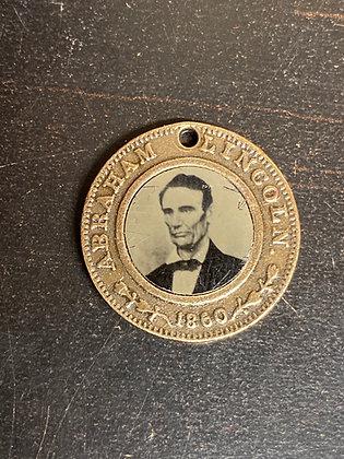 Election of 1861 Republican Tin Type Token