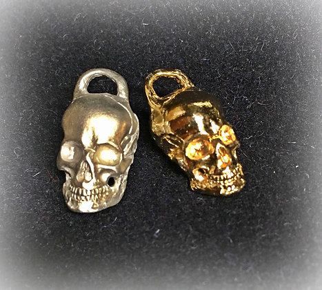 Victorian Skull Watch Fob