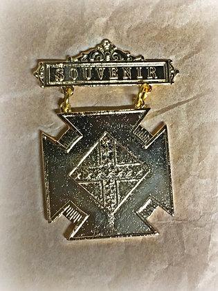 United Confederate Veterans Souvenir Badge