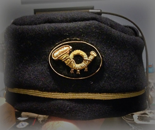 Officer's Toque Style Camp Hat