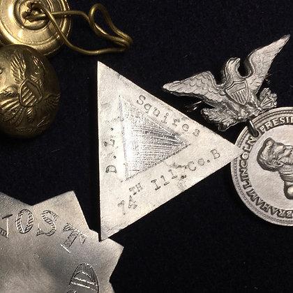 Metal Fourth Corps Badge