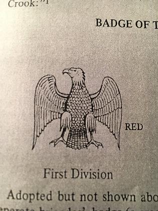Metal West Virginia Corps Badge
