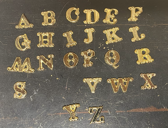 Scroll Style Company Letters