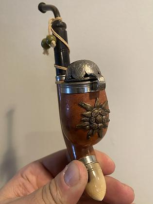Edelweiss Ornate European Tobacco Pipe