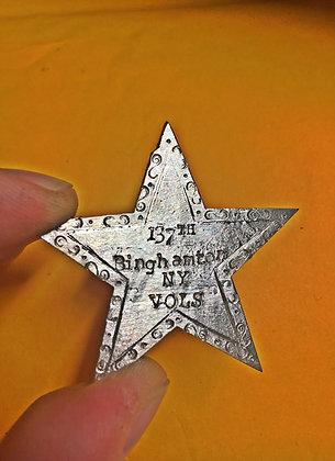 Metal Twelfth Corps Badge